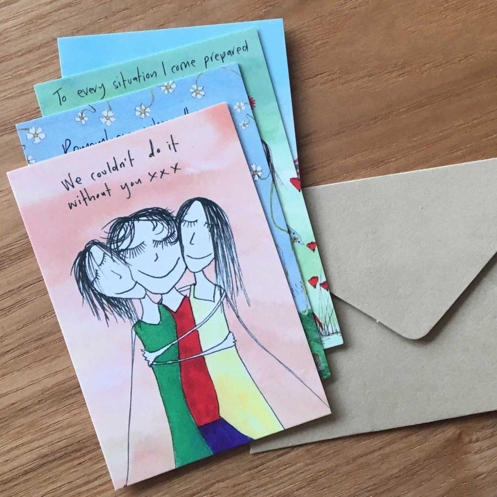 Tin of mini cards envelopes imagine ellie tin of mini cards envelopes kristyandbryce Image collections